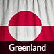 Ruffled Flag of Greenland