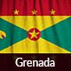 Ruffled Flag of Grenada