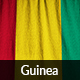 Ruffled Flag of Guinea