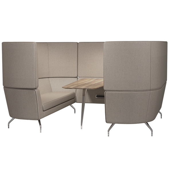 Work sofa - 3DOcean Item for Sale