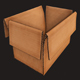 Cardboard boxes Debris