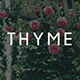 Thyme - A Personal Blog Theme for WordPress
