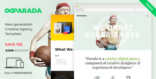Parada | Creative Agency Template