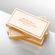 Gold Foil Business Card Mock-Up