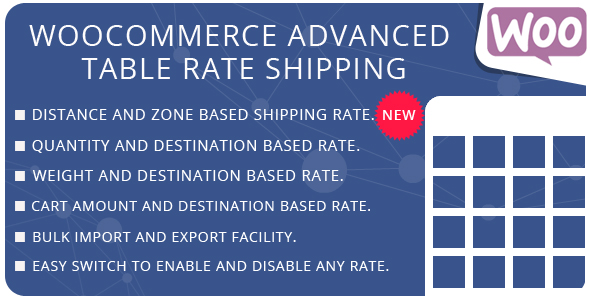 WooCommerce Advanced Table Rate Shipping - CodeCanyon Item for Sale
