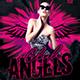 Club Angel Party Flyer