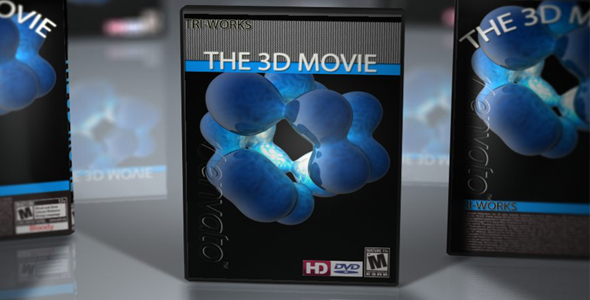 DVD Cases with DOF