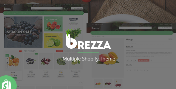 Download Brezza - Responsive Shopify Theme nulled download