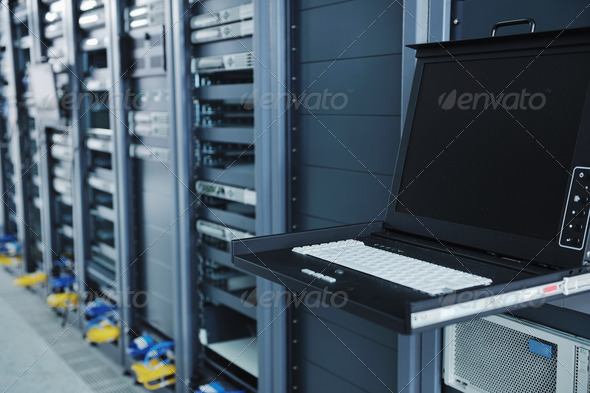 Stock Photo - PhotoDune network server room 1831276