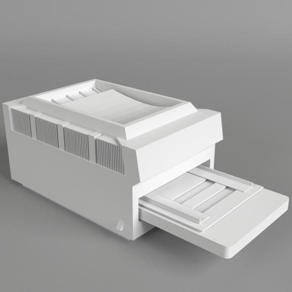 Printer 2 - 3DOcean Item for Sale