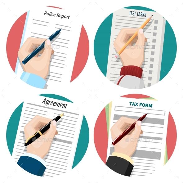 Left-Hander Signing Document
