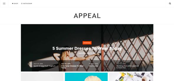 Download Appeal — A News, Blog, & Shop WordPress Theme