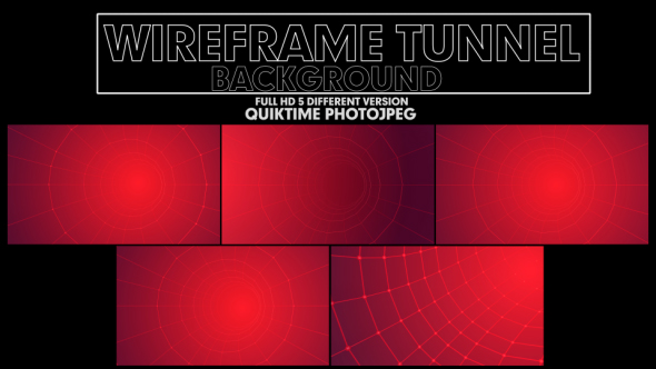 Download Wireframe Tunnel nulled download