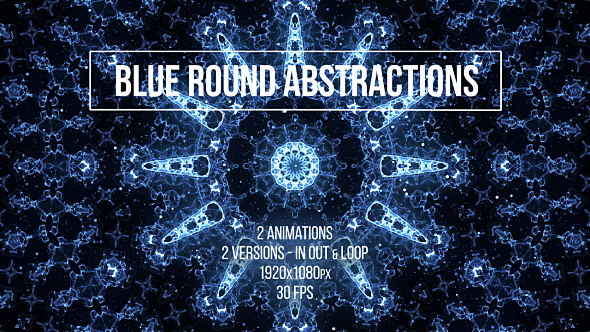 Download Blue Round Abstractions nulled download