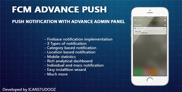 Download Firebase Push Notification iOS / FCM + Advance Admin Panel nulled download