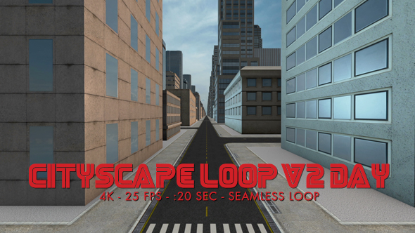 Download Cityscape Loop 2 Day 4k nulled download