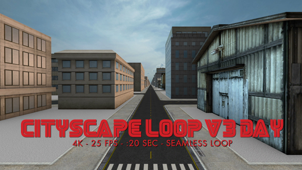 Download Cityscape Loop 3 Day 4k nulled download