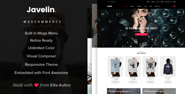 Download Javelin - Woocommerce WordPress Theme nulled download