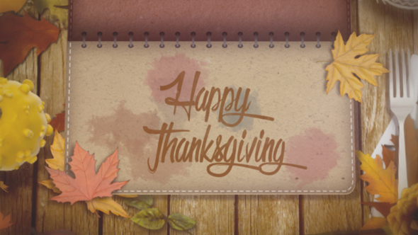 thanksgiving and autumn by onbothsides videohive. Black Bedroom Furniture Sets. Home Design Ideas