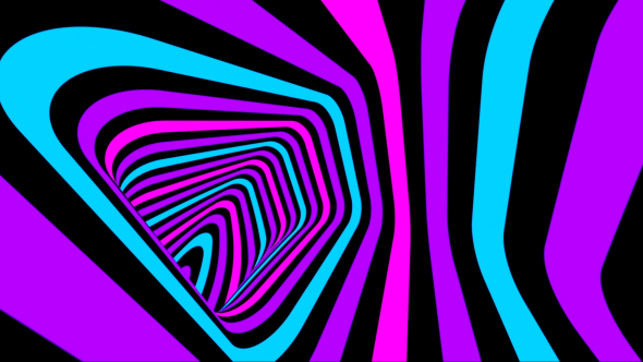 VideoHive Flashing Colored Tunnel 18603814