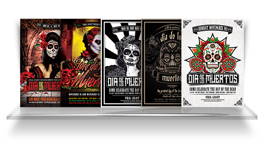 Muertos Flyer Collection