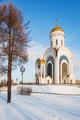 Great Martyr Genus Temple (church of Saint George). Victory Park