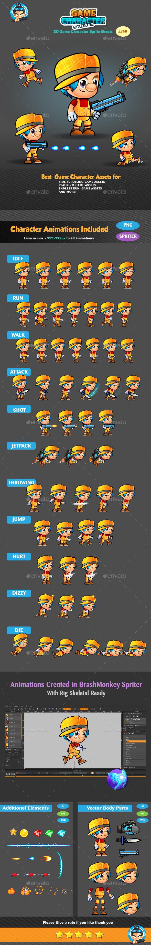 2D Game Character Sprites 269 (Sprites)