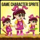 Girl Game Character