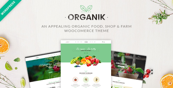 Download Organik - An Appealing Organic Store, Farm & Bakery WooComerce theme nulled download