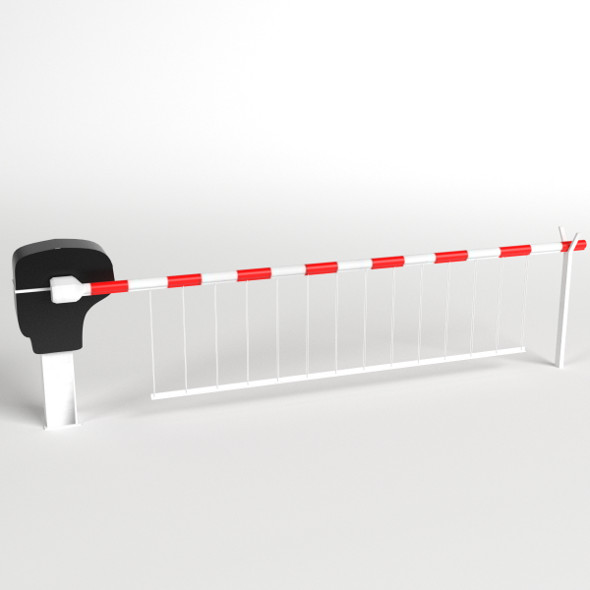 Level Crossing - 3DOcean Item for Sale