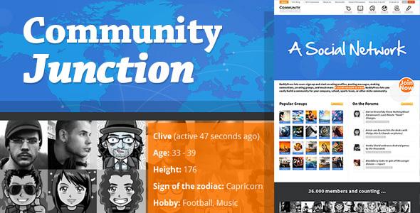 CommunityJunction - BuddyPress Theme