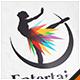 Dancing Woman Logo