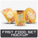 Instant Food Packages Mock-Up Bundle