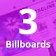 Bundle of 3 Multipurpose Billboard Banners