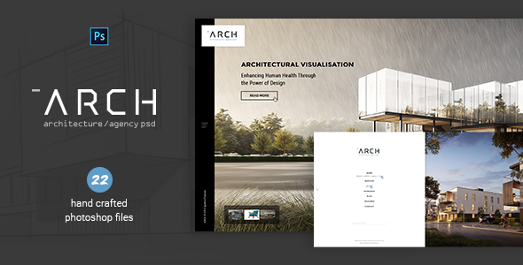 Arch - Architecture & Agency PSD