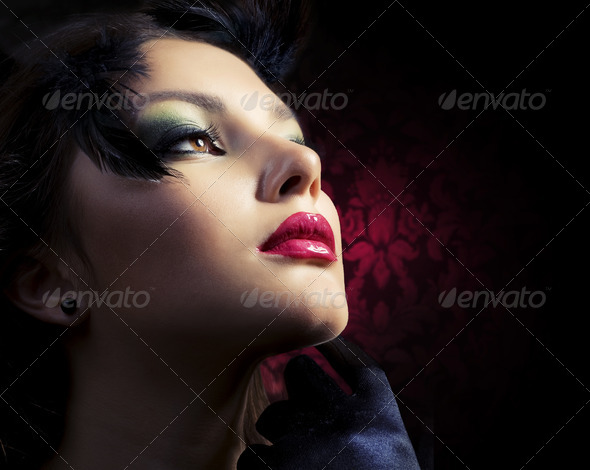 Fashion Woman.Luxury Style - Stock Photo - Images