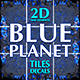 Blue Planet Game Map Tiles and Decals