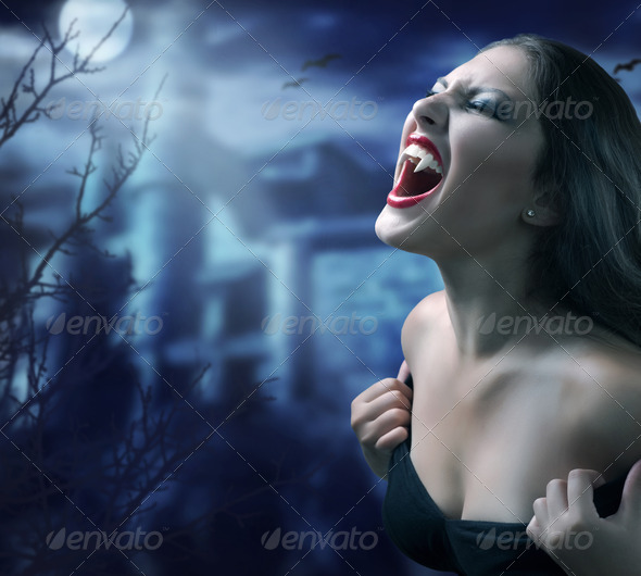 Vampire - Stock Photo - Images