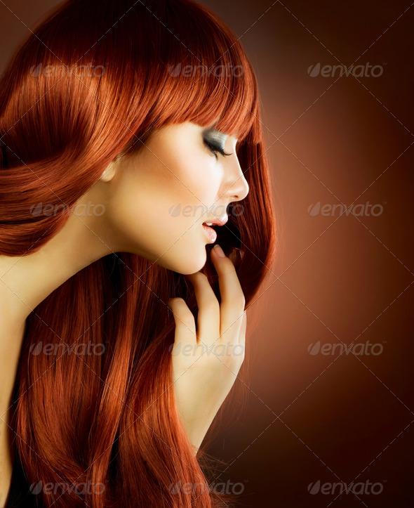 PhotoDune Beauty Portrait.Healthy Hair 1847037