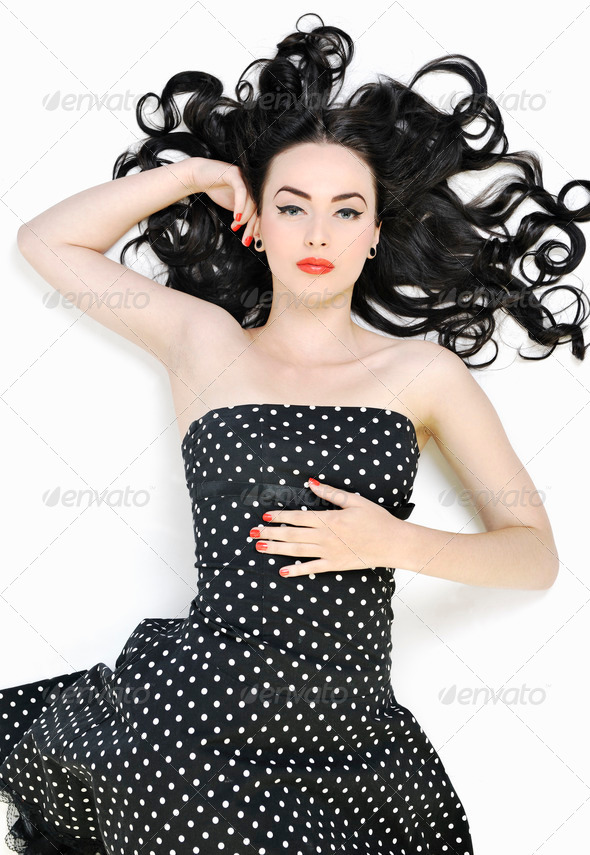 pinup fashion - Stock Photo - Images