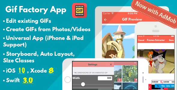 Gif Factory App - CodeCanyon Item for Sale