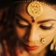 Beautiful Indian Bride's Face