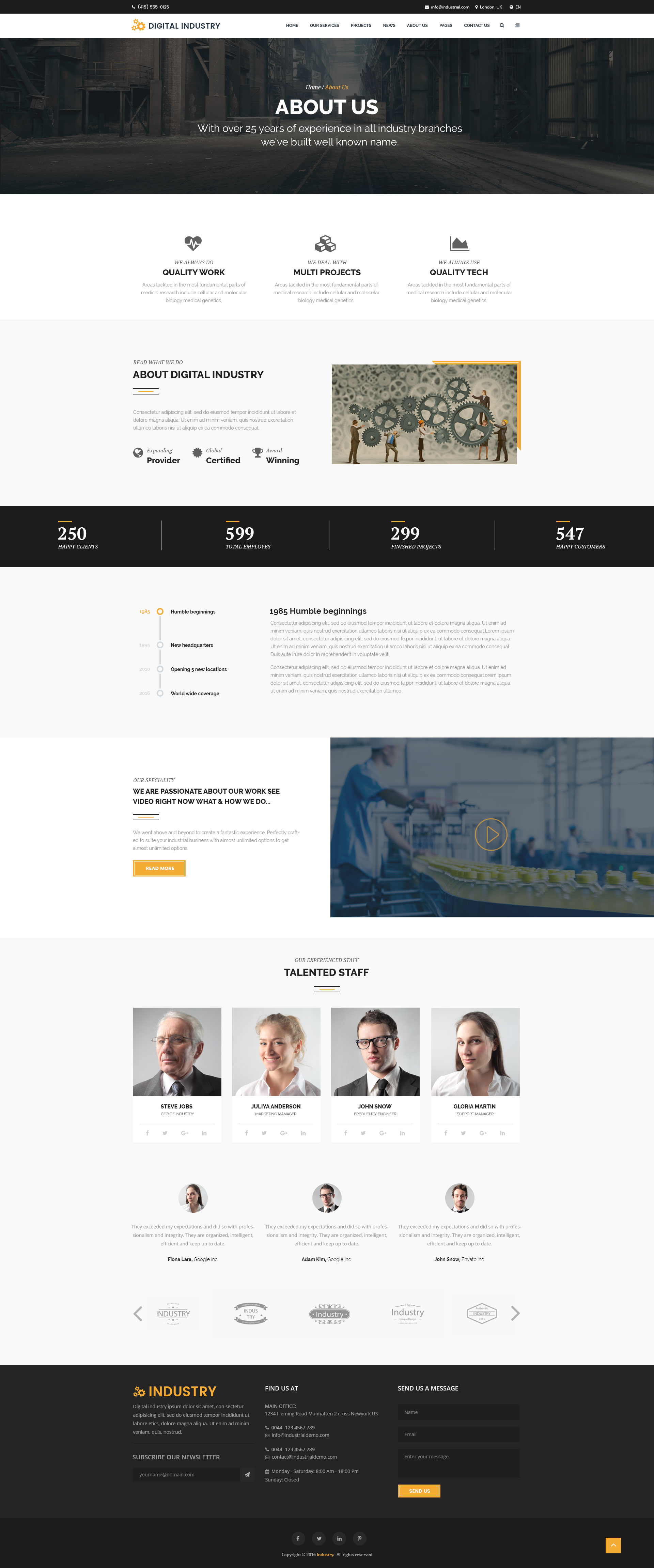 Google themes over the years - Theme Preview 01 Theme Preview Jpg Theme Preview 02_industry_home Jpg