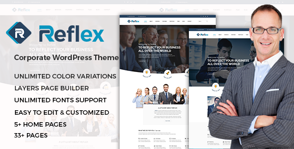 Download Reflex – Corporate Responsive WordPress Theme nulled download