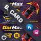 Auto Show Business Card Templates