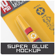 Super Glue Packaging Mock-Up
