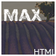 Max - Landing Page