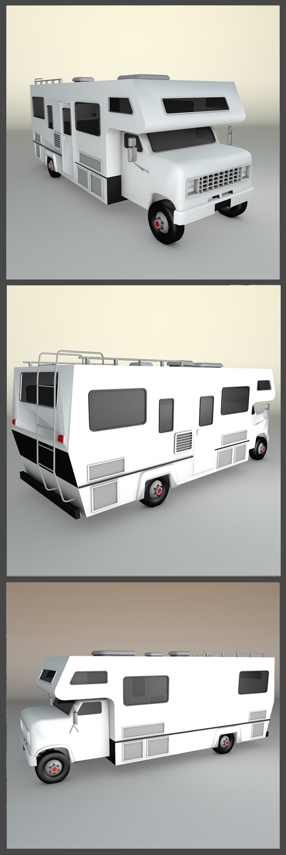 Motorhome - 3DOcean Item for Sale