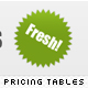 Modern Web 2.0 Pricing Tables - GraphicRiver Item for Sale