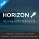 HORIZON - Multipurpose HTML5 Template